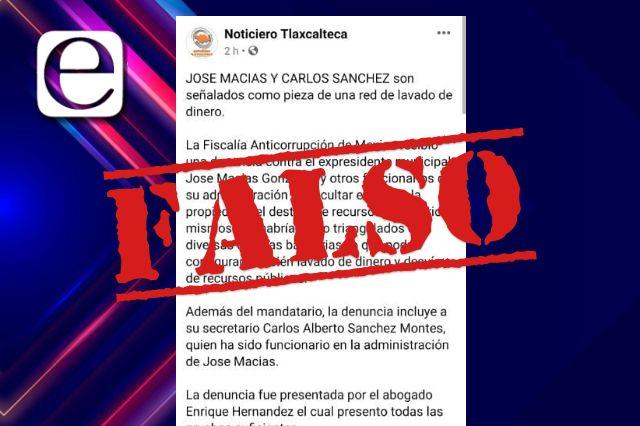 Ex alcalde de Atlangatepec denunciará a medio de comunicación por difamación