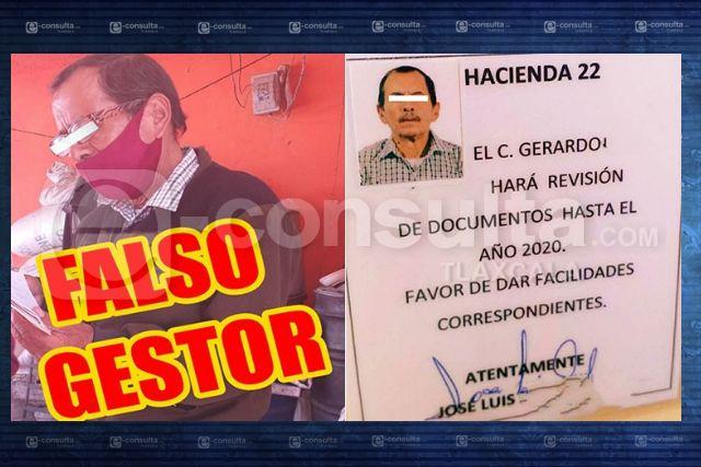 Alerta Gobierno de Huamantla sobre falso gestor que cobra impuesto predial