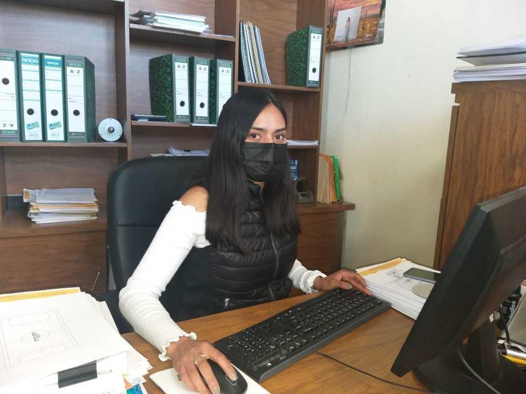 Nombran nueva directora de Obras Públicas en Gobierno de Xicohtzinco
