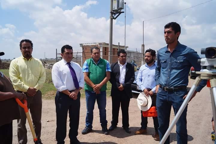 Alcalde de Calpulalpan inaugura y supervisa obras de infraestructura urbana