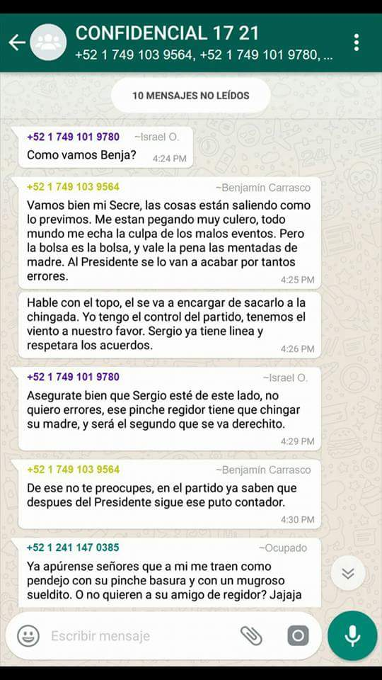 Ventilan supuesto complot contra alcalde de Calpulalpan