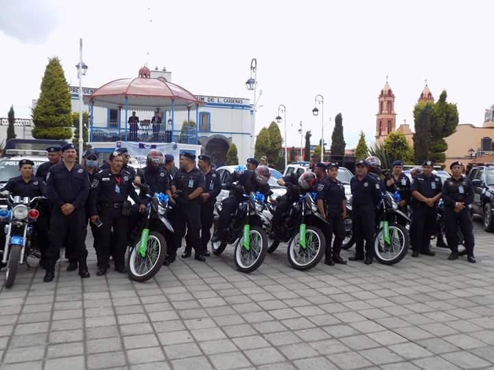 Con entrega de equipo Táctico-operativo Sanctorum refuerza su seguridad pública