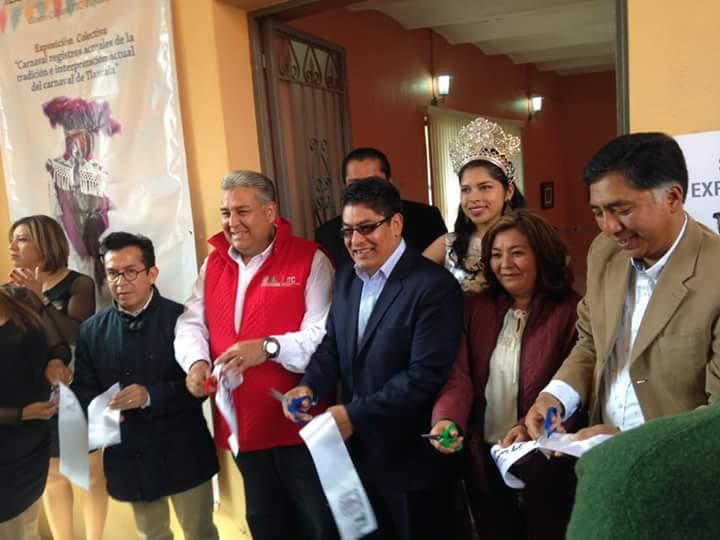 Inauguran exposición cultural en Papalotla