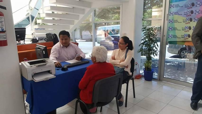 Se reactiva afiliación al PAN; hay tres cursos programados en Tlaxcala