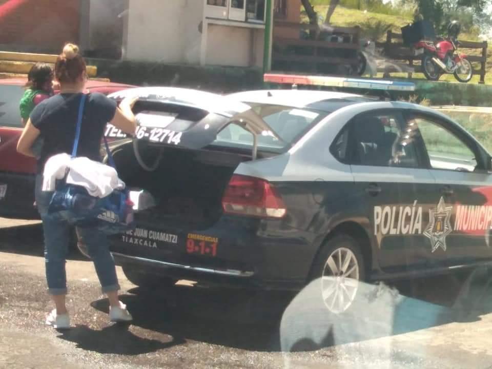 Otras vez Contla es noticia; ahora patrullas para usos personales