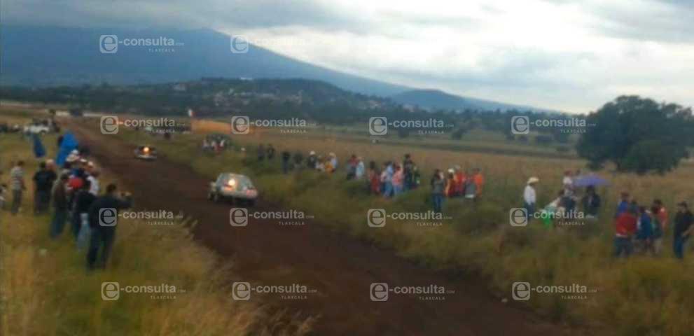 Dos menores de edad muertas y ocho lesionados en la Carrera De Carcachas en Xaloztoc