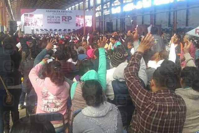 Acusan al INE de obstaculizar la asamblea 19 de RSP en Tlaxcala
