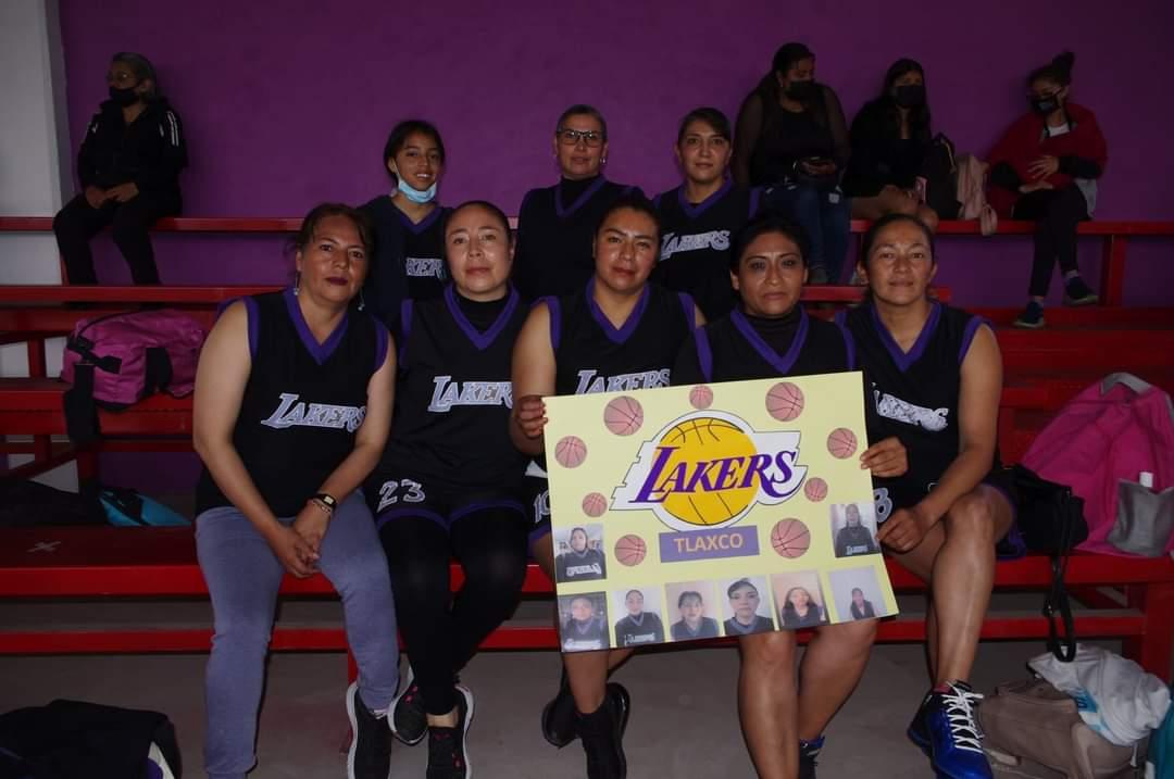 Inauguran Liga de Baloncesto de Tlaxco