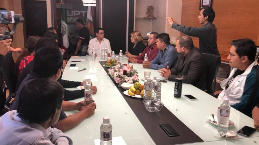 Ayuntamiento y la UPT trabajaran a favor de la educación y el desarrollo de Quilehtla