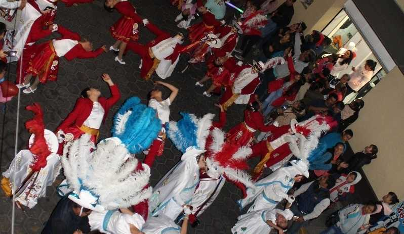 En Chiautempan se vivió el primer baile monumental de la Jota