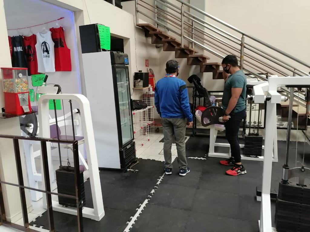 PC de Papalotla sancionará Gimnasios y centros deportivos, sino cumplen medidas sanitarias