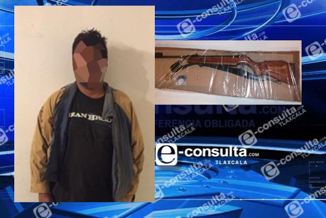 La SSC asegura en Sanctórum a persona con arma de fuego