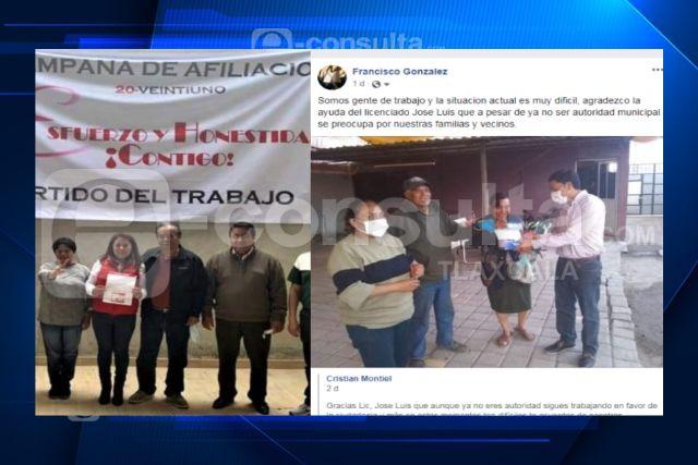 Le hacen el trabajo a alcalde de la Magdalena Tlaltelulco