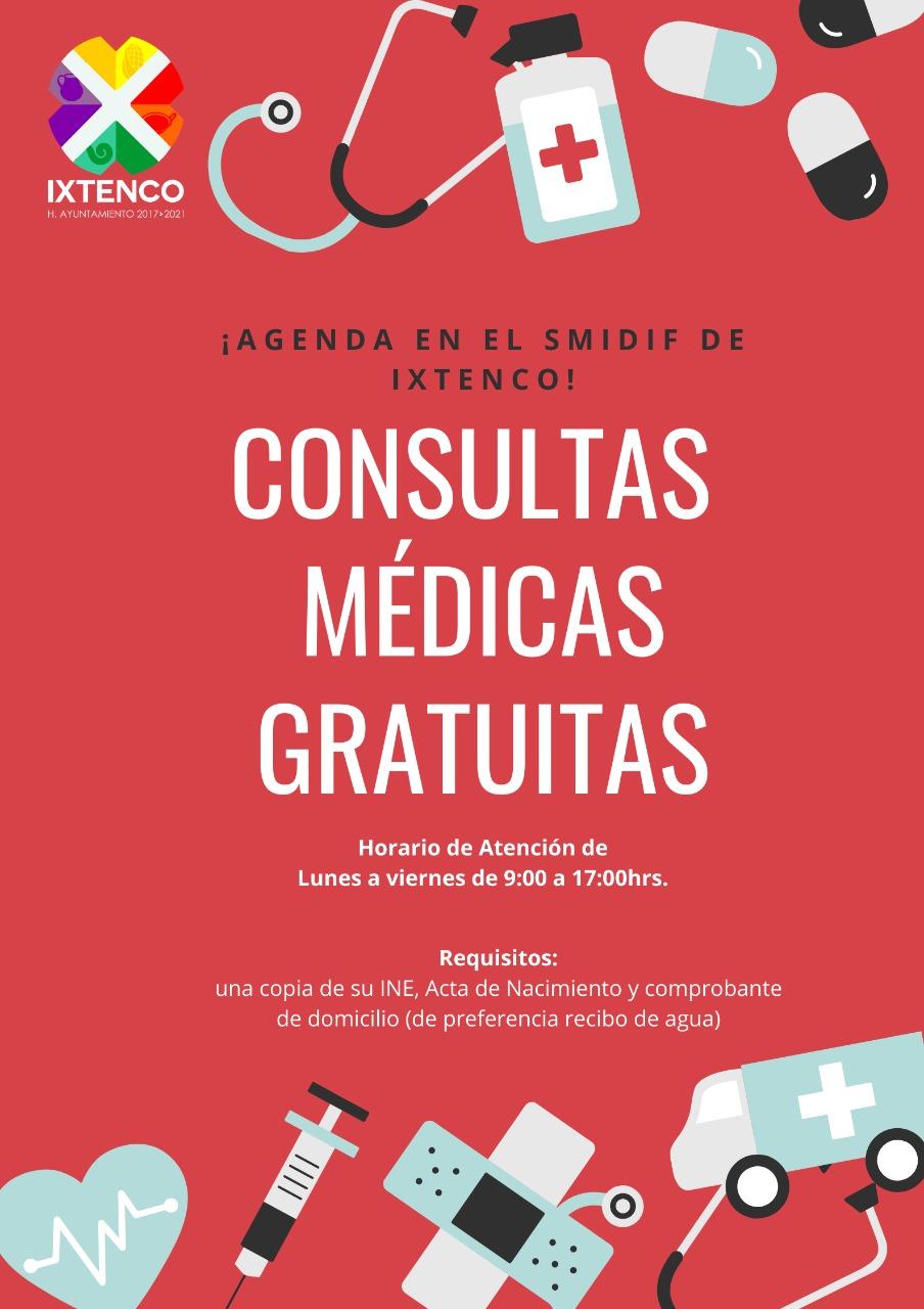 Ofrece SMDIF de Ixtenco, consultas médicas gratuitas