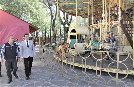 Supervisan últimos detalles de la logística de la Feria de Tlaxcala
