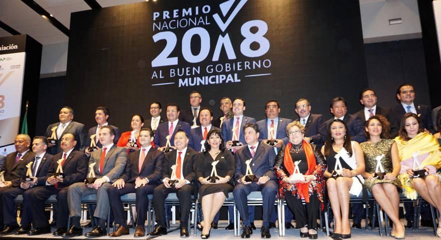 Gana la capital el Premio Nacional al Buen Gobierno Municipal