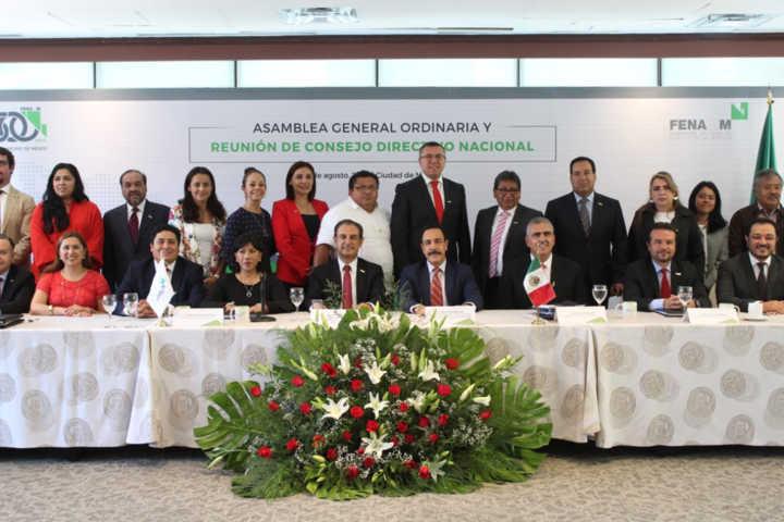 Rinde protesta Anabell Ávalos como Presidenta Ejecutiva del Consejo Nacional de Alcaldes