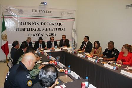 Realizan reunión para planear despliegue ministerial en Tlaxcala