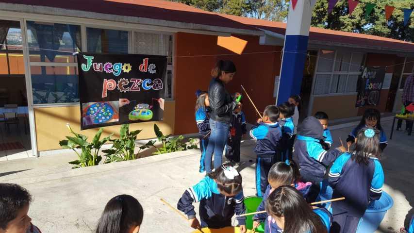 Fortalecen aprendizajes en jardín de niños Sor Juana Inés De La Cruz con Feria De Matemáticas