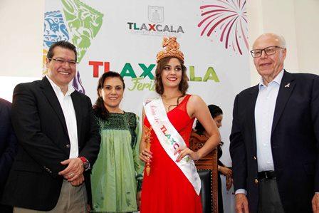 Inauguran Marco Mena y José Narro la Feria de Tlaxcala 2017