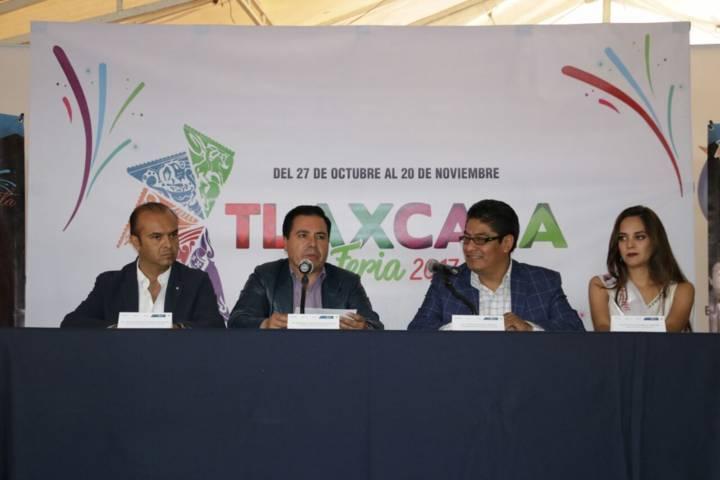 Presentan en Hidalgo la Feria de Tlaxcala 2017