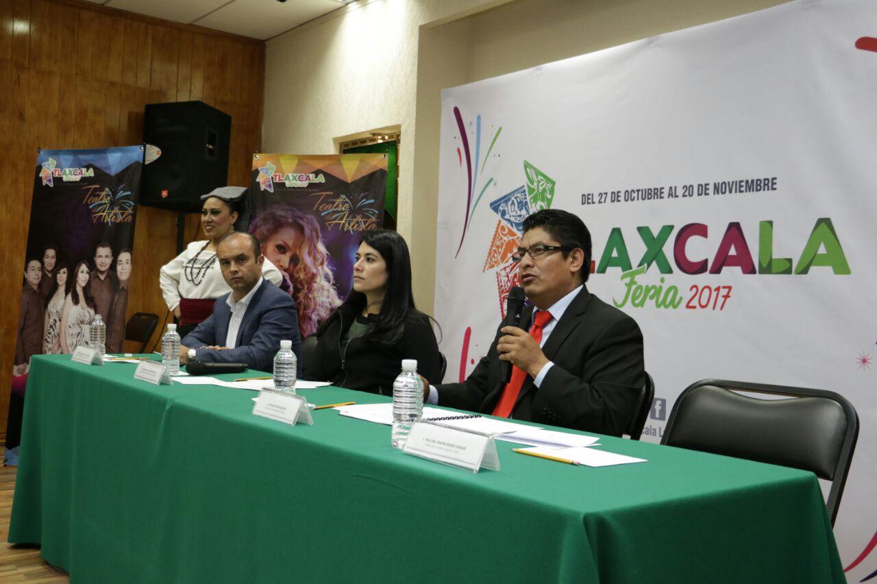 Presentan la Feria de Tlaxcala 2017 en el Estado de México