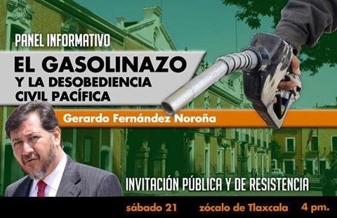 Confirma visita Gerardo Fernández Noroña, hoy 4pm en Tlaxcala