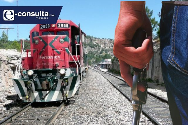 Se desploma el número de robos al tren en Tlaxcala