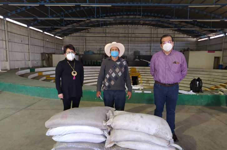 Se benefician 170 personas en Huamantla con 60 toneladas de fertilizante orgánico gratuito