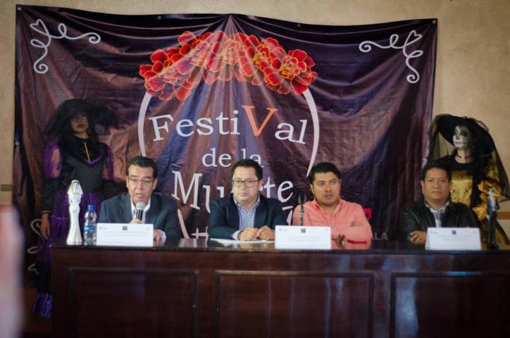 Presenta ayuntamiento el V Festival de la Muerte en la capital