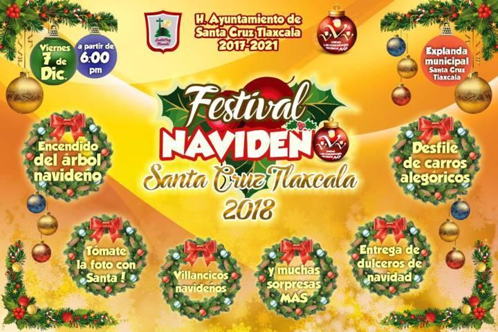 "Hoy 7 de diciembre ven a disfrutar del ""2do Festival Navideño"""
