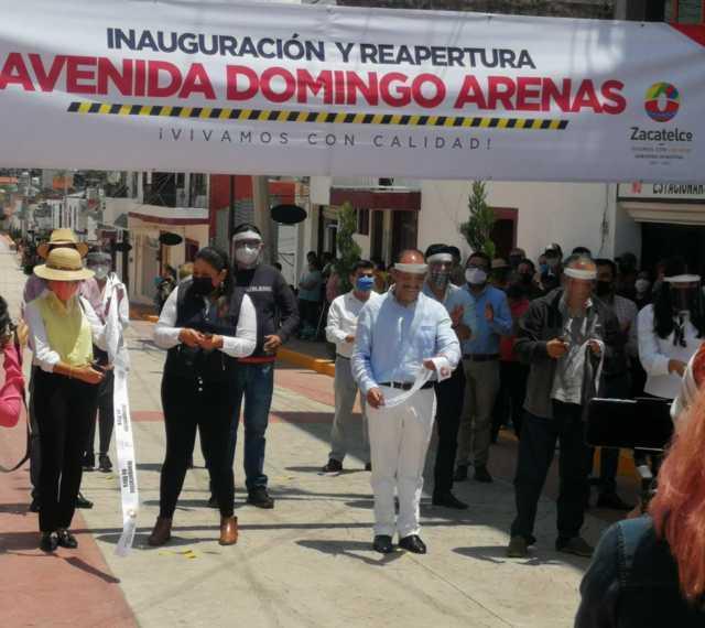 Tomás Orea Albarrán entrega obra de impacto en el centro Zacatelco