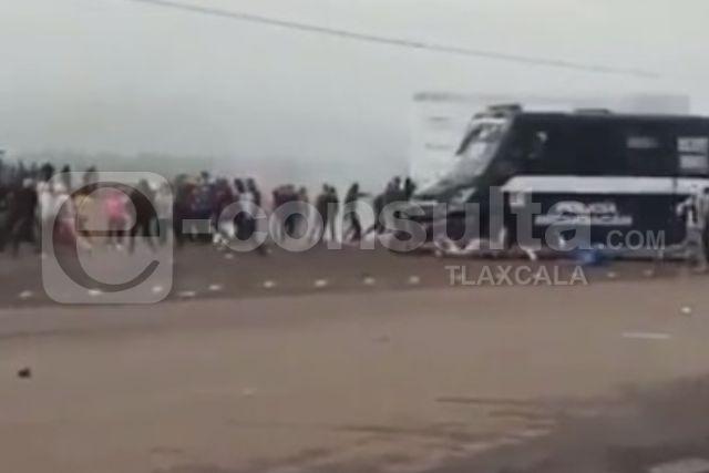 Estudiantes normalistas de Panotla podrían estar detenidas en Michoacán