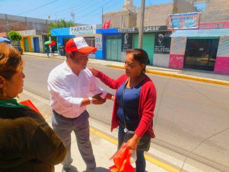 Propuestas reales como legislador hará Fidel Águila
