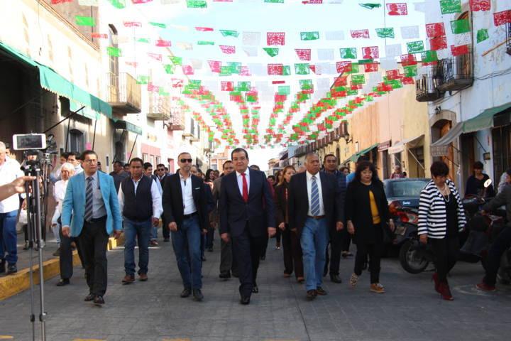 Con la fijación del Bando solemne iniciamos las fiestas patrias: alcalde