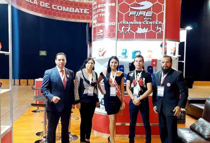 Triunfa Fire Sports en Expo Franquicias Puebla 2019