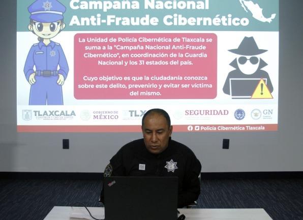 La policía cibernética se suma a la campaña anti-fraude cibernético