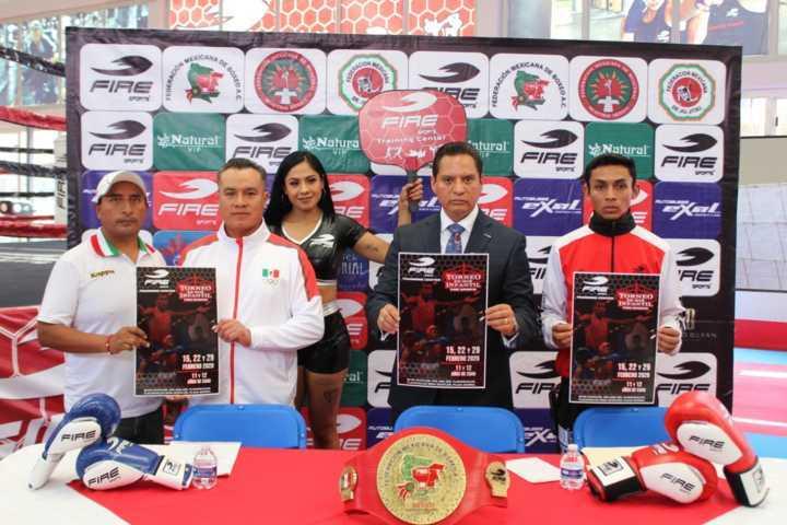 Convocan a participar a torneo de box Fire Sports 2020