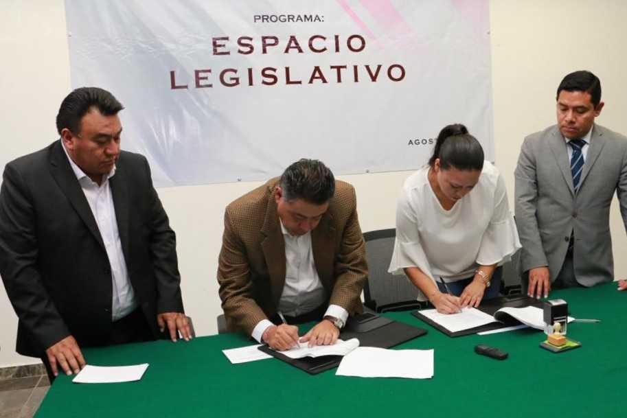 Signa congreso de tlaxcala convenio con la Coracyt del gobierno del estado