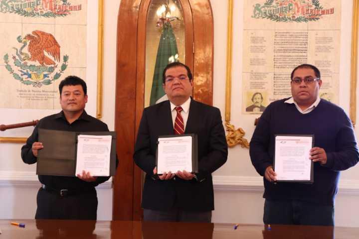 Ayuntamiento y el Sistema Estatal Anticorrupción firman convenio de colaboración