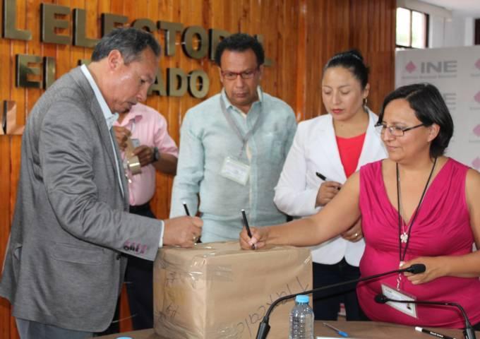 Aventaja cómputo de elecciones en distritos electorales del INE Tlaxcala