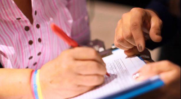 Concreta independiente número de firmas; fue señalado por regalar sopas