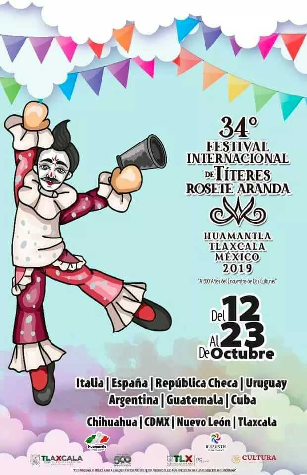 Regresan los Títeres Rosete Aranda a Huamantla: Sánchez Jasso
