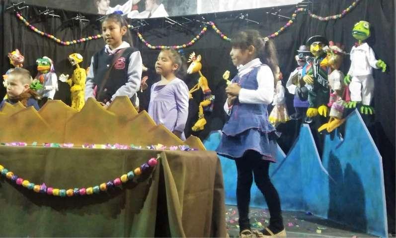 Tzompantepec acoge Festival Internacional de Títeres
