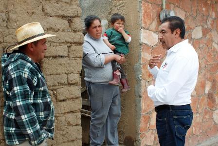 Legislaré a favor del empleo y la salud: Florentino Domínguez