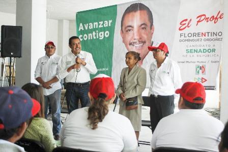 Con Tetlanohcan y todo el estado ganaremos elección: Domínguez