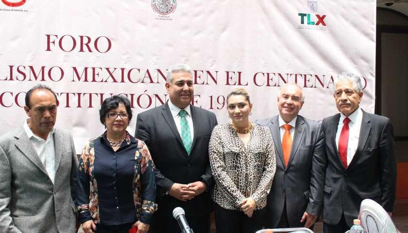 Realizan en el Congreso Foro de Constitucionalismo Mexicano