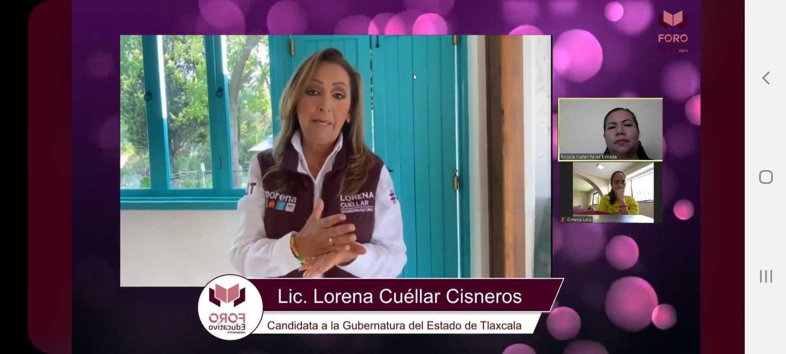 Foro Educativo de Lorena Cuéllar con especialistas nacionales e internacionales