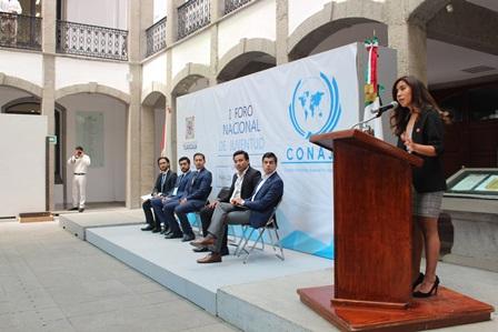 Congreso Local sede del  Primero Foro Nacional de Juventud