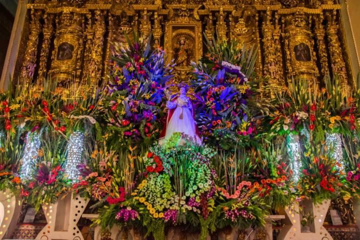 La Feria Zacatelco y la iglesia de Santa Inés recibieron a miles de turistas